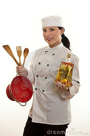 Free Kitchen Hand Or Chef Stock Photography - 729282