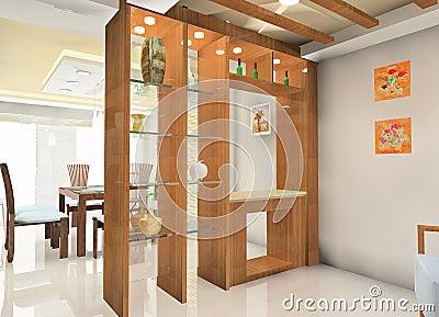 Kitchen illustration design