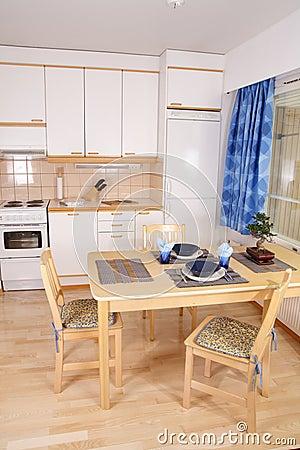 Free Kitchen Interior Detail Stock Photography - 5489032