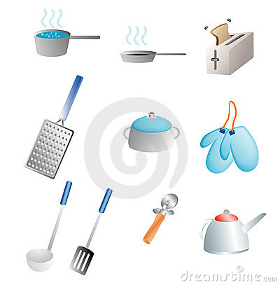 Free Kitchen Items Royalty Free Stock Photos - 3134678