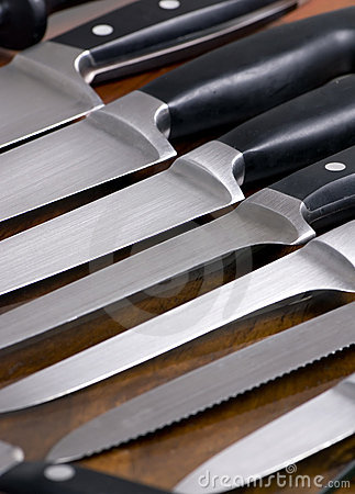 Free Kitchen Knives 2 Stock Image - 1537461