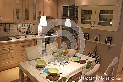 Kitchen Editorial Stock Image