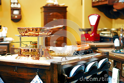 Kitchen in the old style