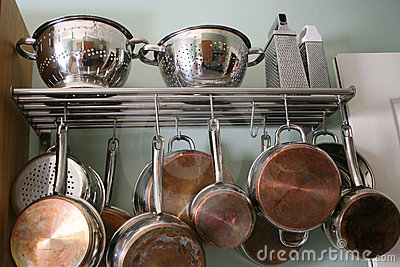 Kitchen Pots and Pans