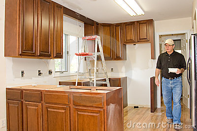Kitchen remodel cabinets home improvement
