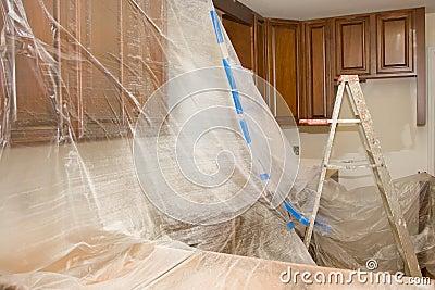 Kitchen remodel home improvement