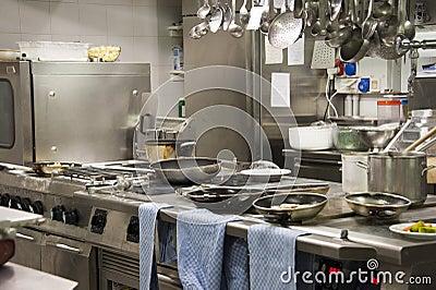 Kitchen restaurant