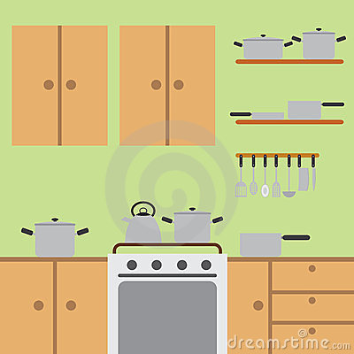 Kitchen room.