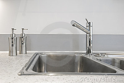 Kitchen sink deatil