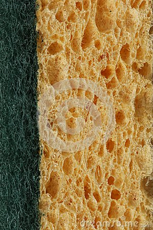 Kitchen sponge background