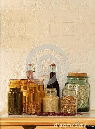 Free Kitchen Storage Jars Stock Images - 20457224