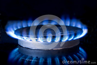 Kitchen Stove-top Flame
