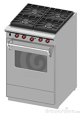 Kitchen stove unit