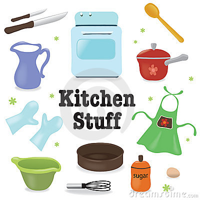 Free Kitchen Stuff Stock Image - 18267251
