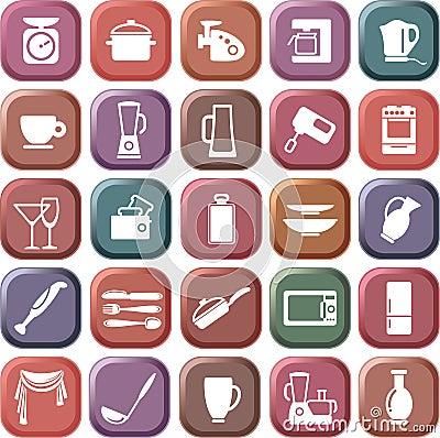 Kitchen symbols