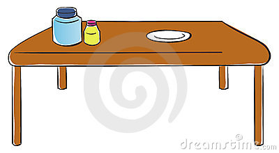 Kitchen Table Royalty Free Stock Image - Image: 20699846