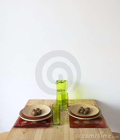 Free Kitchen Table Royalty Free Stock Photography - 2657017