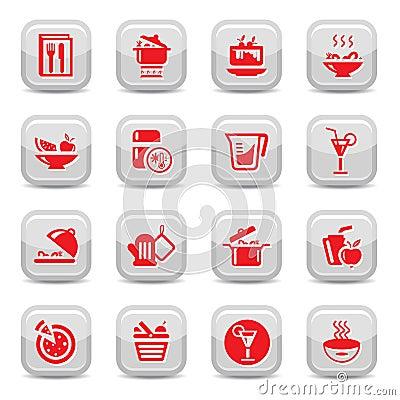 Kitchen type icons