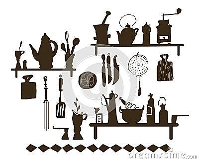 Kitchen utensil (Vector)