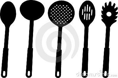 Kitchen utensils -