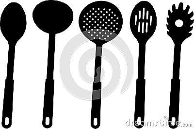 Kitchen utensils -