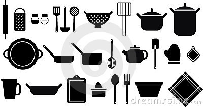 Kitchen Utensils Stock Photo - Image: 22532090