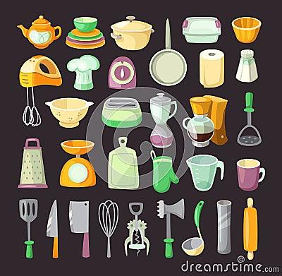 Free Kitchen Utensils. Stock Photos - 60435643