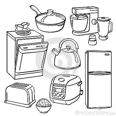 appliancerepair additionally Black People Cooking Clipart moreover Round Picture Frames Amazon besides Microwave Free Clipart as well Stock Illustration Kitchen Utensils Appliances Collection Different Kinds Sketch Style Contains Hi Res   Pdf Illustrator Image51052105. on cartoon kitchen stove