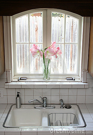 Kitchen Window Royalty Free Stock Photo - Image: 9371285