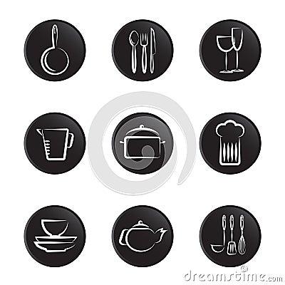 Kitchenware object set