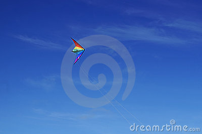 A Kite Flying