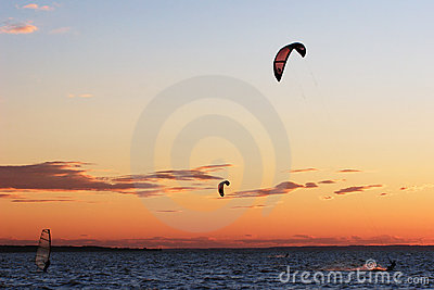 Kite surf competition