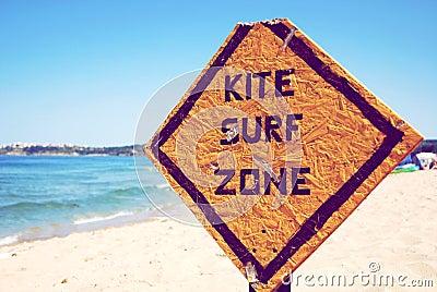 Kite surf zone