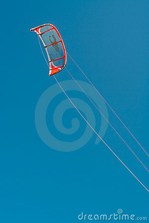 Kite surfer wing