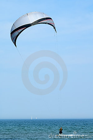 Free Kite Surfing Royalty Free Stock Photography - 137167