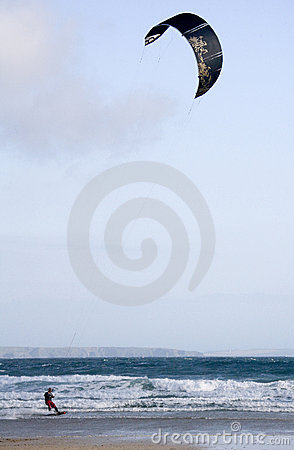 Kite Surfing - Cornwall - England