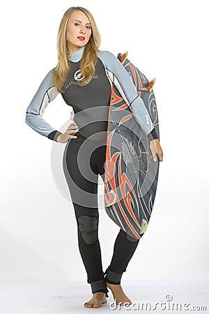 Kite woman