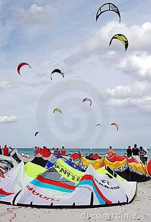 Free Kiteboards Stock Image - 6472841