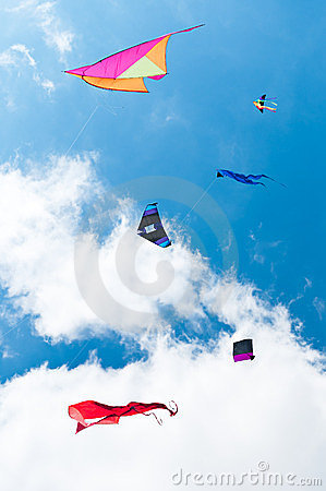 Kites Flying