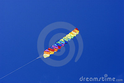 Kites in a row