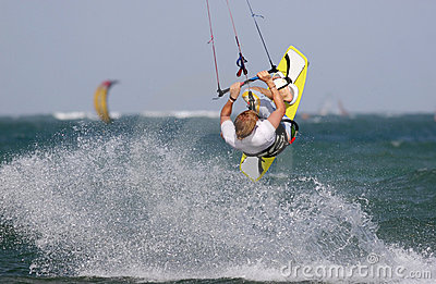 Kitesurf Backroll