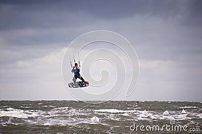 Kitesurf Worldcup 2010 Editorial Stock Photo
