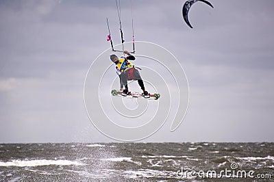 Kitesurf Worldcup 2010 Editorial Image