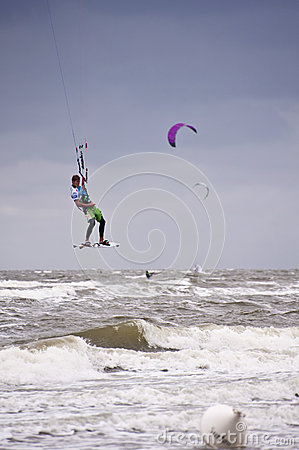 Kitesurf Worldcup 2010 Editorial Stock Photo
