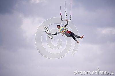 Kitesurf Worldcup 2010 Editorial Stock Image