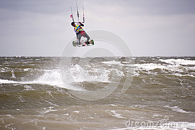 Kitesurf Worldcup 2010 Editorial Image