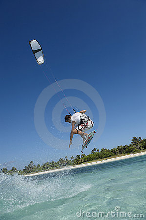 Free Kitesurfer Royalty Free Stock Photo - 8318705