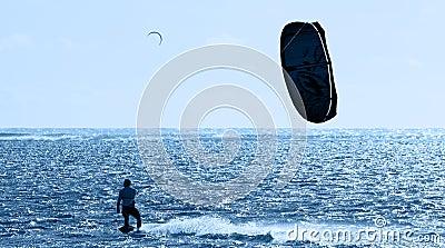 Kitesurfing in Mauritius