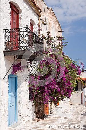Free Kithira Island Houses Royalty Free Stock Image - 17339226