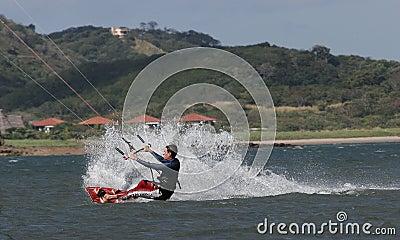 Kiting in Costa Rica 1